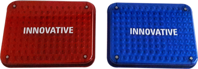 Big Square Blinkers 2 Colors
