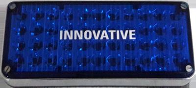 Oblong LED Light Assembly – Blue