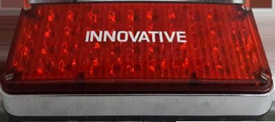 Oblong LED Light Assembly – Red